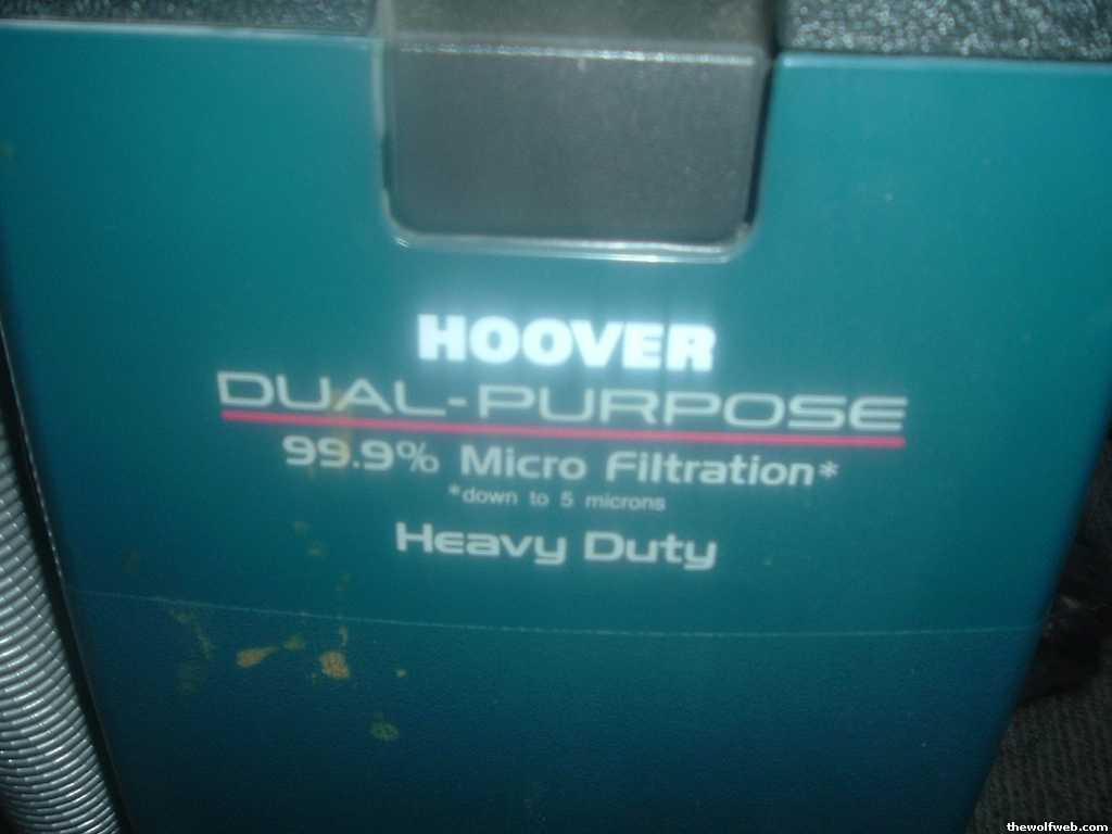 tww ff obo hoover legacy ii vacuum rh thewolfweb com Hoover WindTunnel Vacuum Cleaners Hoover Power Drive Vacuum